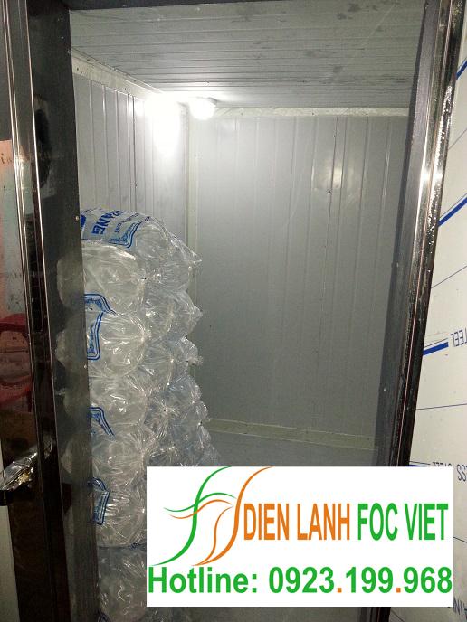 lắp đặt kho lạnh bảo quản đá viên