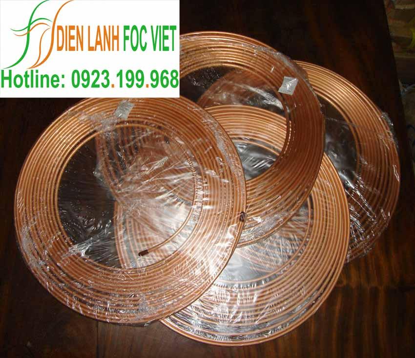 ống đồng Ruby Copper dạng cuộn