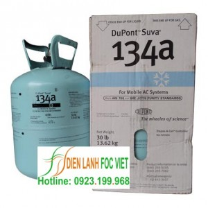 gas lạnh Dupont Suva R134A