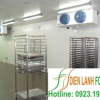 lắp đặt kho lạnh siêu thị