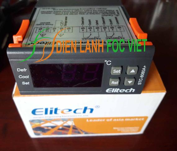 điều khiển nhiệt độ STC-8080