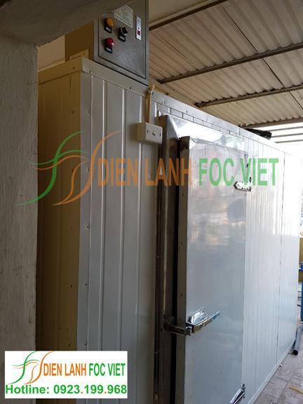 lắp đặt kho lạnh bảo quản hóa chất
