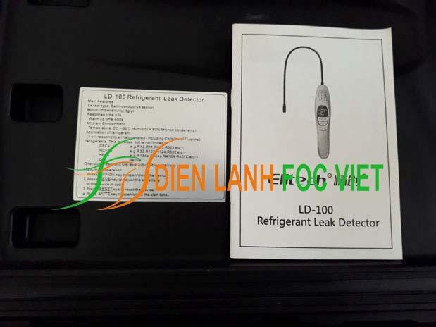 Thiết bị phát hiện rò rỉ khí gas lạnh Elitech LD-100