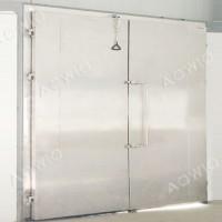 Cửa bản lề kho lạnh 2 cánh AOWID-PLM