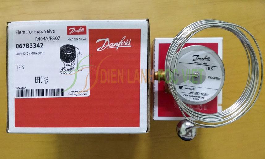 Van tiết lưu Danfoss TE 5, Van tiết lưu Danfoss TE5